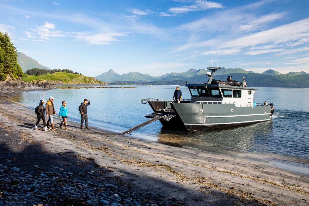 Boating on Kodiak Island