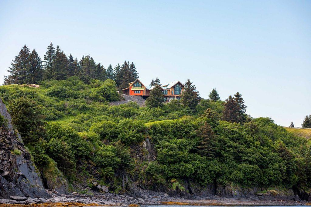Homesite in progress, Cliff Point