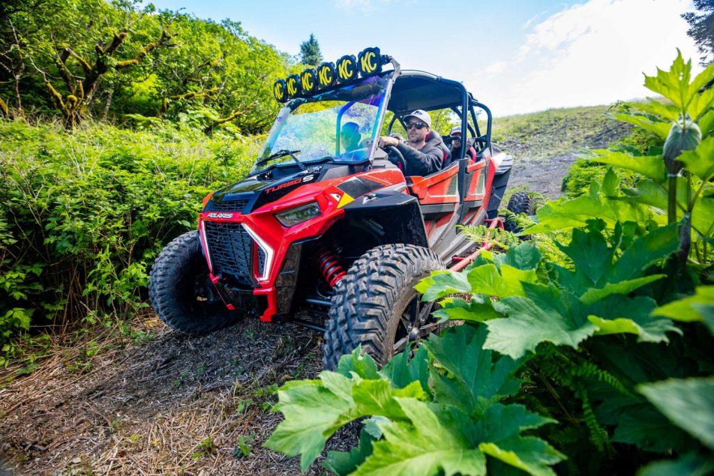 ATV riding, Kodiak Alaska