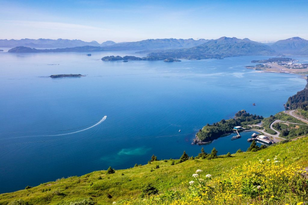 View of Kodiak Alaska