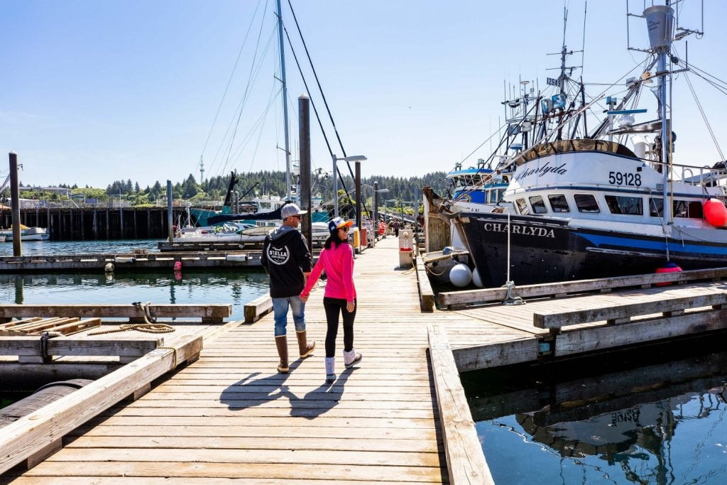 Harbor in Kodiak Alaska