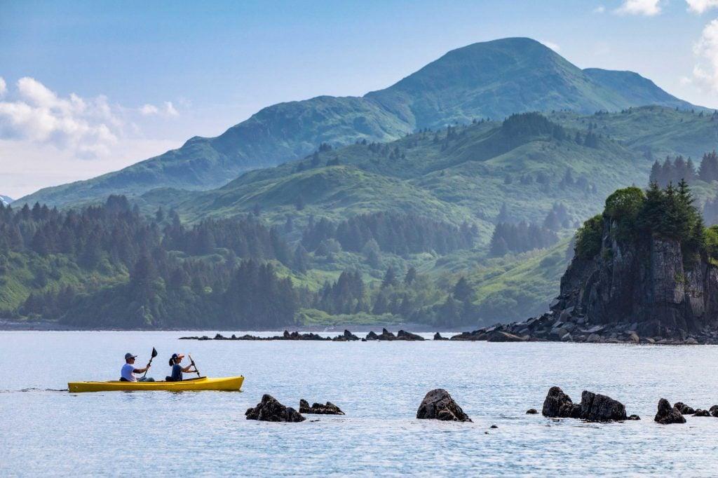 Kayaking in Kodiak Alaska